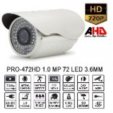 BALANDI PRO-472HD 1MP 72 LED 3.6MM AHD + AYAK