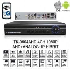 BALANDI TK-9604AHD 4CH 1080P AHD+ANALOG+IP HIBRIT