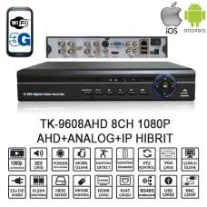 BALANDI TK-9608AHD 8CH 1080P AHD+ANALOG+IP HIBRIT