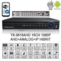 BALANDI TK-9616AHD 16CH 1080P AHD+ANALOG+IP HIBRIT